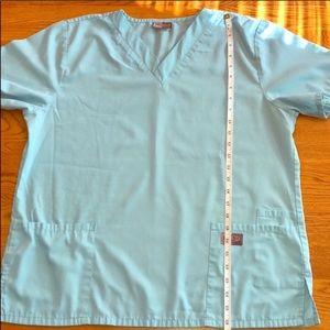Scrub Zone Tops - 3 size large Scrub Zone scrub tops. Short sleeve.